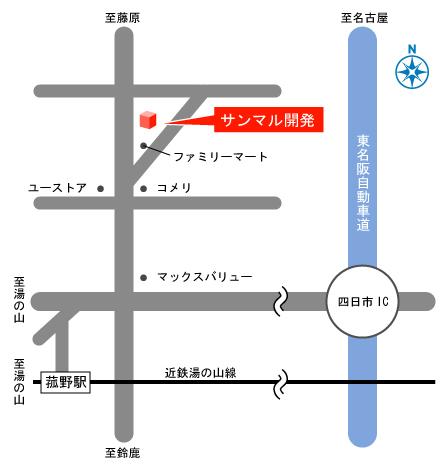 地図 住宅 三重県 マイホーム